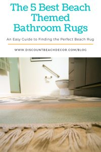 The 5 Best Beach-Themed Bathroom Rugs