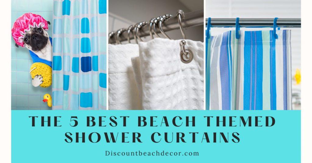 5 best shower curtains collage