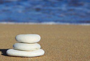 Calming beach