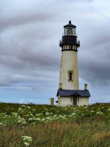 Yaquina Head Lighthouse in Oregon