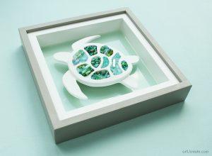 DIY Seat Turtle Wall art