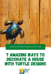 7 Amazing Ways To Decorate A House With Turtle Designs