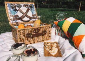 packing a picnic basket