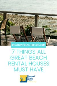 Must Haves for a Successful Beach Rental
