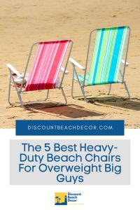 The 5 Best Heavy-Duty Beach Chairs For Overweight Big Guys