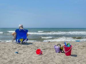 Toys and activities for the beach